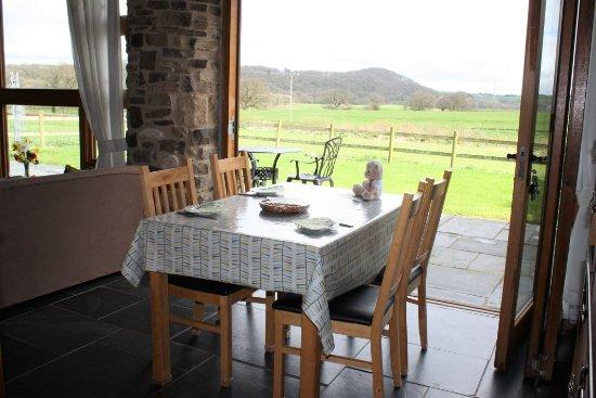 Umberleigh, UK: Meadow View Kitchen