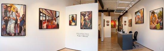 Almonte, Canadá: Interior of Sivarurlasa Gallery, Adrienne Dagg - Public Spaces