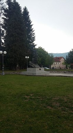 Kolasin, Montenegro: Monument to the fallen Soldiers