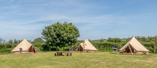 Mena Farm Our bell tents for rent - Poppy Bluebell and Daisy & Our bell tents for rent - Poppy Bluebell and Daisy - Picture of ...