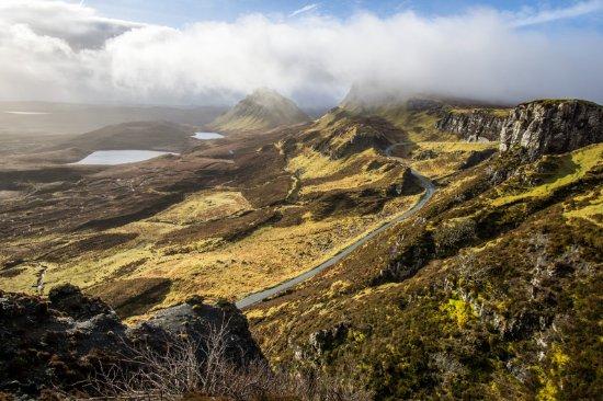 Kinghorn, UK: Quirang - eine beeindruckende Landschaft auf der Isle of Skye