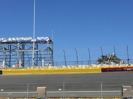 Grandstands Picture Of Charlotte Motor Speedway Concord