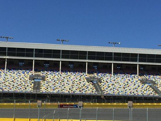Concord, NC: grandstands