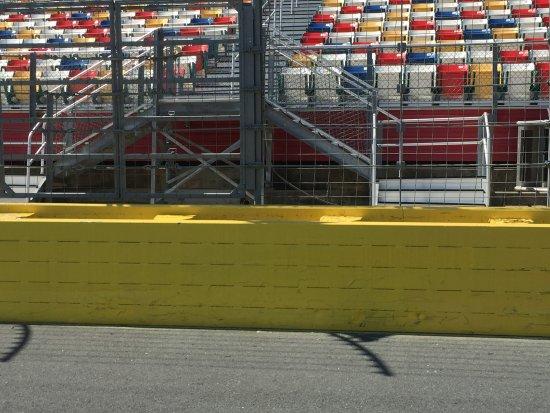 Concord, NC: track view