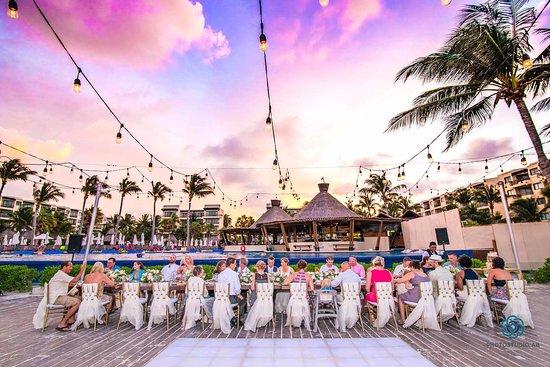 Dreams Riviera Cancun Resort Spa An Amazing Wedding Reception