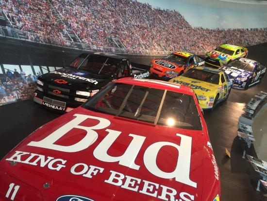 NASCAR Hall of Fame: full size models