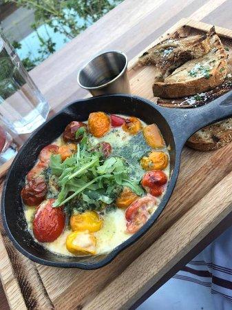 The Bison Restaurant: Broxburn tomatoes yum yum yummy