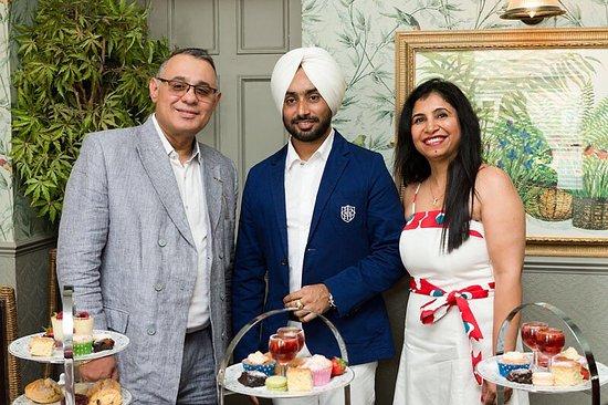 The Thomas Paine Hotel: Afternoon teas with Satinder Sartaj