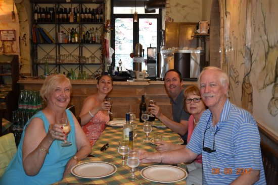 All Around Italy : authentic lunch --- food, food and more food