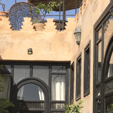 Riad Mur Akush: Entrance to the Grand Suite Amel