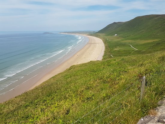 Rhossili Bay: View from the top
