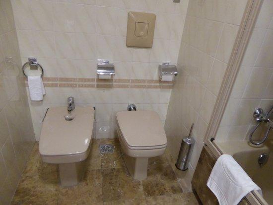 Hotel Liabeny: WC + bidet