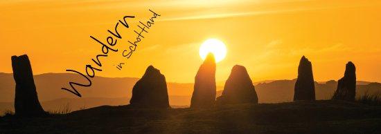 Kinghorn, UK: Callanish Steinkreise auf der Äußeren Hebrideninsel Lewis