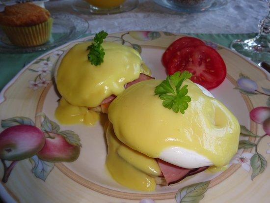 Antigonish, Kanada: Delicious Eggs Benedict