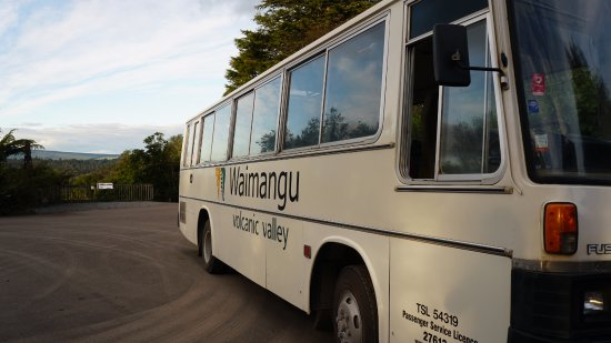Waimangu Volcanic Valley: Waimangu Shuttle Bus