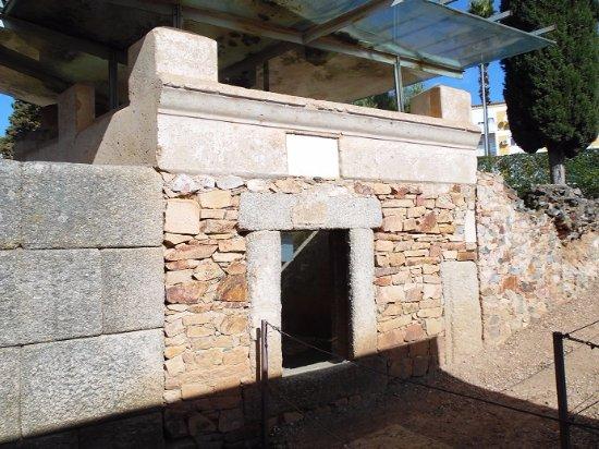 Area funeraria de los Columbarios