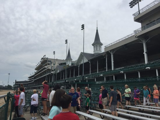 Kentucky Derby Museum: part of the tour