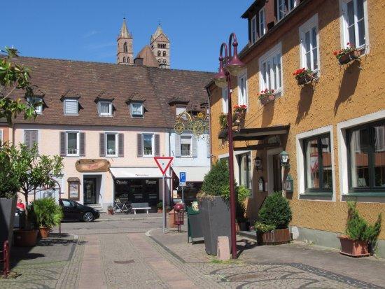 Breisach am Rhein, Германия: Downtown streets