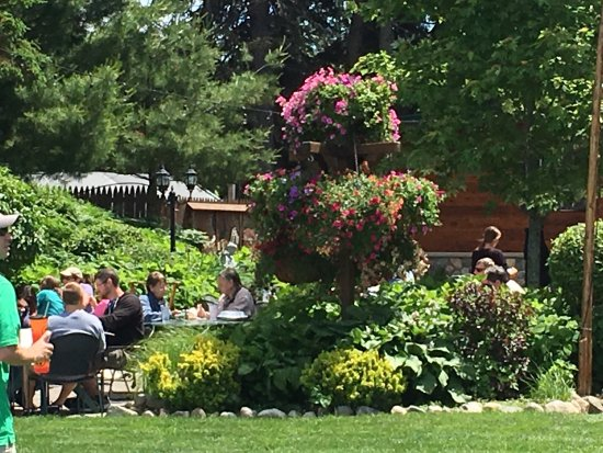 Cross Village, MI: A great place to enjoy lunch or dinner after traveling through the beautiful Tunnel of Trees fro