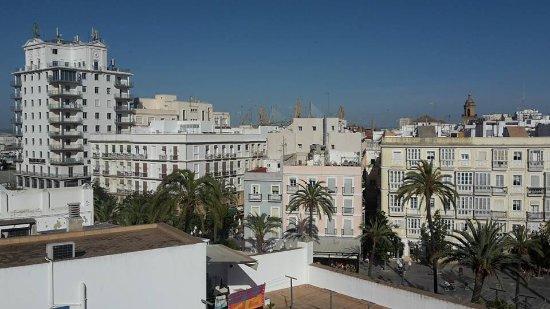 Hostal Fantoni: View from roof terrace