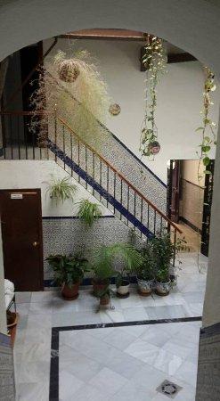 Hostal Fantoni: Main foyer (taken from stairs)