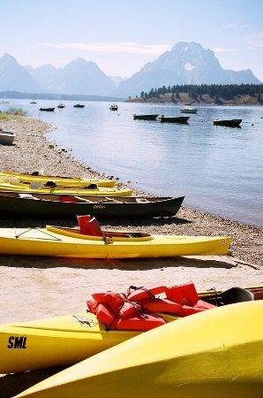 Grand Teton: More boats
