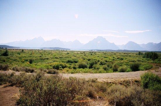 The Grand Teton from far