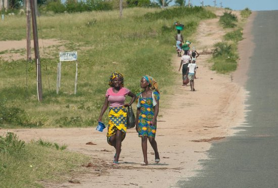 Almere, The Netherlands: Driving through Mozambique