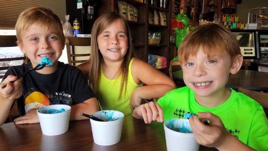 Dyersburg, TN: Cookie monster ice cream
