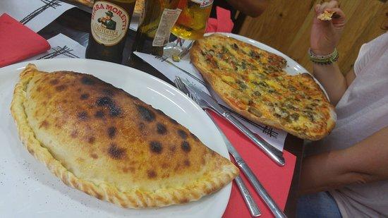 Puigcerda, Spanyol: Pizzeria da mamma Nati