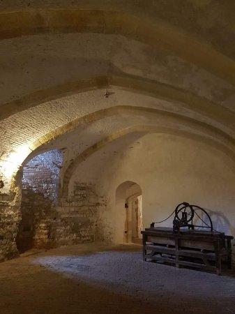 Deal Castle: Deep inside the keep