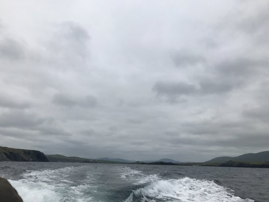 Portmagee, Ireland: Heading out to Sea