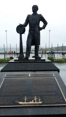 Samuel Cunard Statue