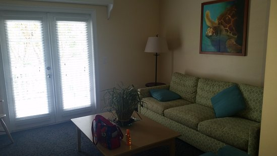 Living Room In Two Bedroom Suite Picture Of Parrot Key Hotel And Resort Key West Tripadvisor