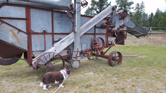 Fort Steele, Canada: Investigating century old farm equipment