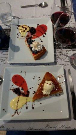 tarte tatin e cheesecake