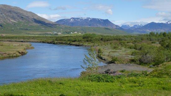 Reykholt, İzlanda: View from Room 4