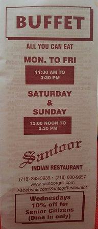 Glen Oaks, Νέα Υόρκη: AYCE BUFFET Mon-Fri 11:30am to 3:30pm, Sat&Sun 12noon to 3:30pm...wow 7 days a week!