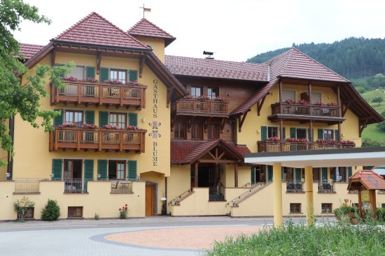 Haslach im Kinzigtal, Germany: Original, traditional building has been completely renovated - very charming!