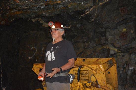Aj Gastineau Mine Tour