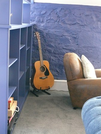 The Inn at Loch Tummel: I like an hotel with a guitar for the use of guests.