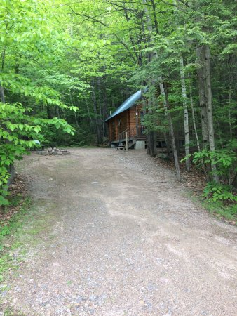 Ossipee, NH: Cabin K2 - more secluded than the others