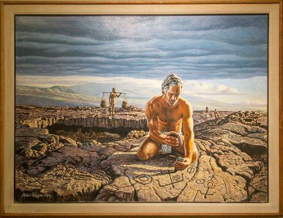 Waimea, HI: Herb Kawainui Kane