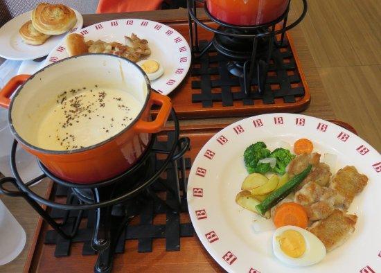 Ota, Japan: チーズフォンデュ