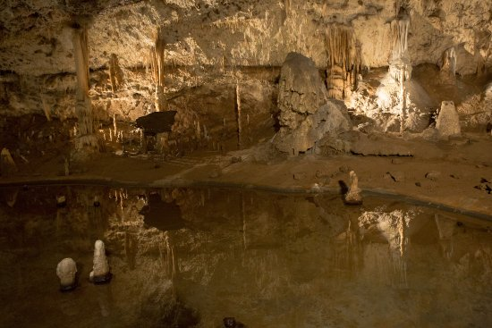 Blansko, สาธารณรัฐเช็ก: a chamber in Punkva caves