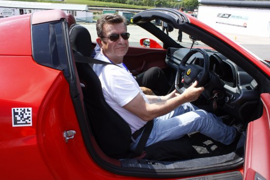 Kirkby Mallory, UK: Me and the Ferrari