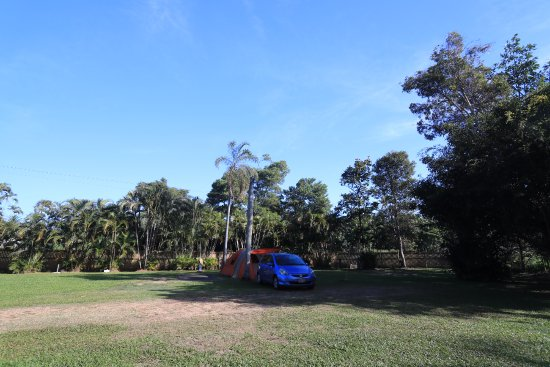 Wongaling Beach, Australia: Camping area