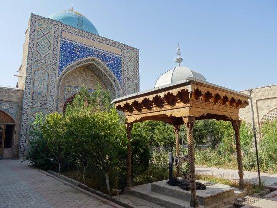 Istaravshan, ทาจิกิสถาน: The courtyard of the Medressa of Abdullatif Sultan