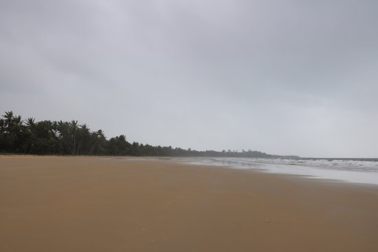 Mission Beach, Australia: beautiful beach even on a cloudy day