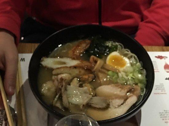 Ramen, rice, light, enjoy !
